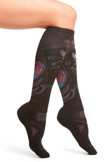 Smartwool PhD® Ski Medium Paisley Socks