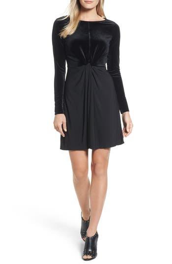 MICHAEL Michael Kors Velvet Mix Twist Dress