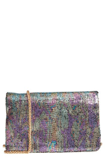 Street Level Sequin Clutch