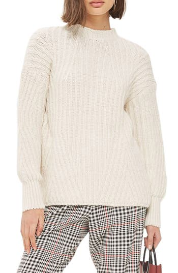 Topshop Deflected Rib Sweater