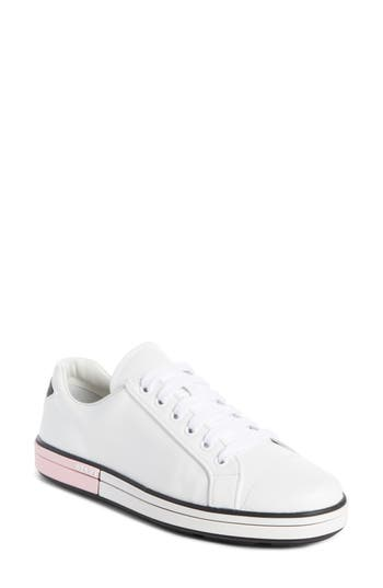 Prada Logo Low Top Sneaker..
