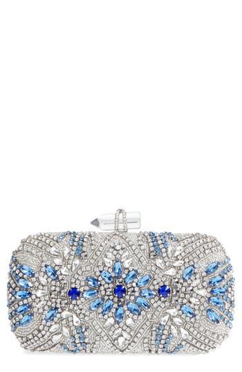Nina Gelsey Crystal Embellished Minaudi?re