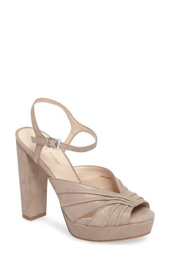 Pelle Moda Palm Platform Sandal (Women)