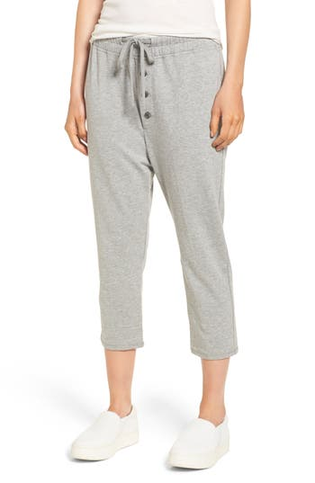 James Perse Slouchy Crop Sweatpants