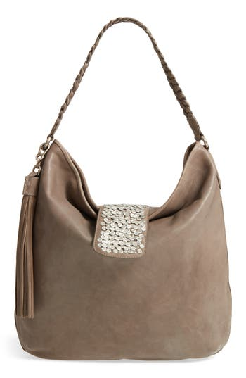 C?line Dion Cadence Leather Hobo Bag