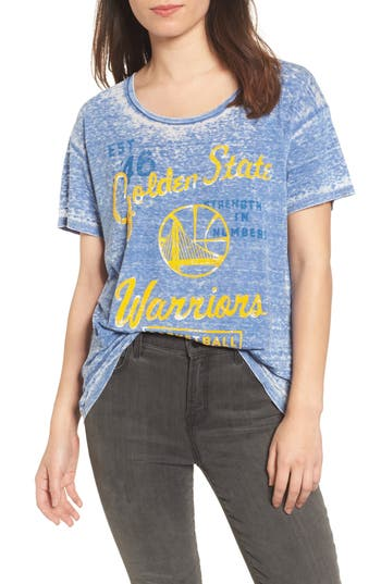 Junk Food NBA Golden State Warriors Burnout Tee