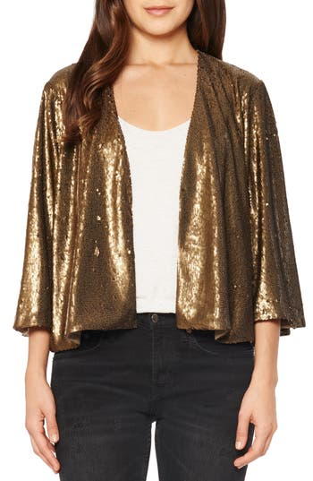 Willow & Clay Sequin Crop ..