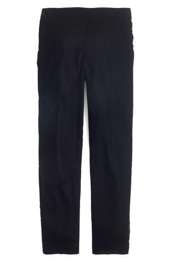 J.Crew Velvet Easy Pants
