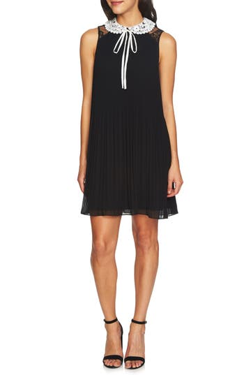 Scarlett Pleated Shift Dress by Cece