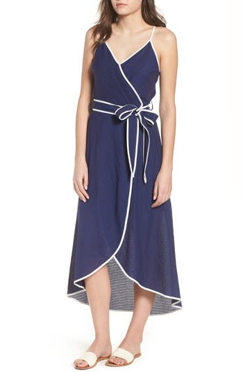 Midi Wrap Style Dress by Moon River