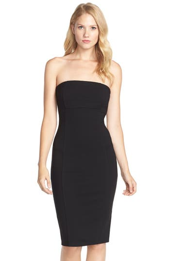 Felicity & Coco Brianna Strapless Knit Body-Con Dress (Nordstrom Exclusive)