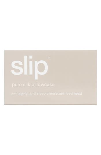 slip<sup>™</sup> for beauty sleep 'Slipsilk<sup>™</sup>' Pure Silk Pillowcase,                             Alternate thumbnail 2, color,                             Caramel
