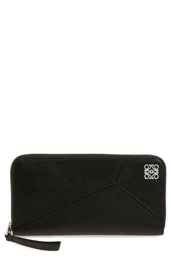 Loewe 'Puzzle' Leather Zip Around Wallet
