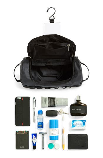 'Base Camp' Travel Canister,                             Alternate thumbnail 4, color,                             The North Face Black