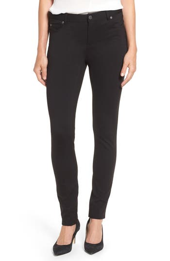 Two by Vince Camuto Skinny Ponte Pants (Petite)