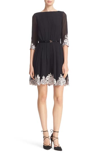 Ted Baker London Feay Belted Lace Embellished Dress
