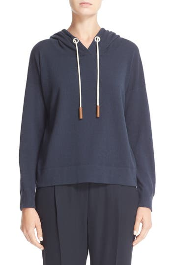 Fabiana Filippi Cashmere Hooded Sweatshirt