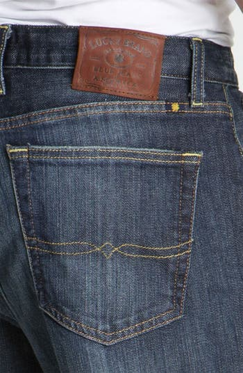Alternate Image 3  - Lucky Brand '329' Classic Straight Leg Jeans (Ol' Lipservice)