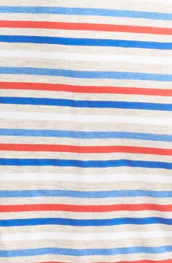 Alternate Image 3  - Olivia Moon Back Zip Stripe Dress