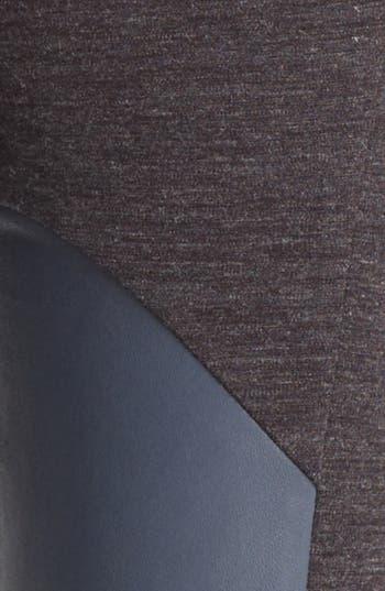 Alternate Image 4  - Thakoon Colorblock Leather & Ponte Leggings