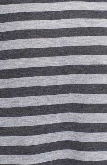 Alternate Image 3  - h.i.p. High/Low Stripe Wrap Skirt (Juniors)