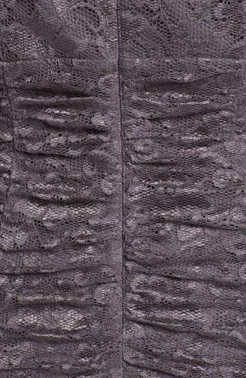 Alternate Image 3  - Eliza J Ruched Lace Dress (Plus Size)