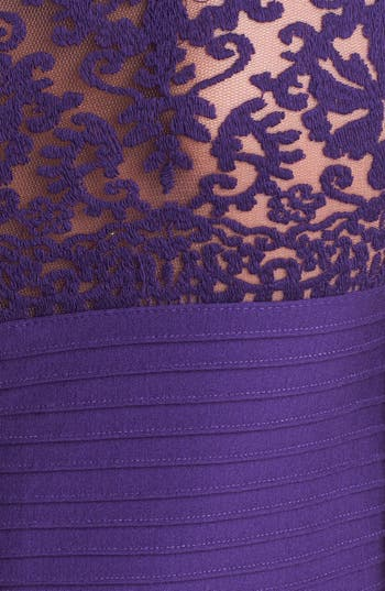 Alternate Image 4  - Tadashi Shoji Matte A-Line Jersey Dress