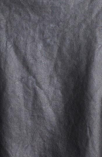 Alternate Image 3  - Robbi & Nikki Faux Leather Panel Tunic