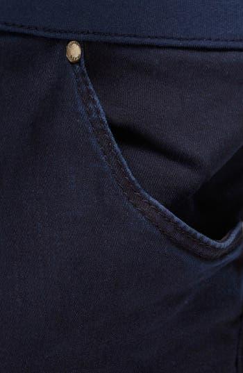 Alternate Image 3  - Topshop Moto 'Leigh' Maternity Jeans (Indigo)