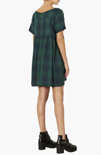 Alternate Image 2  - Topshop Check Print Smock Dress