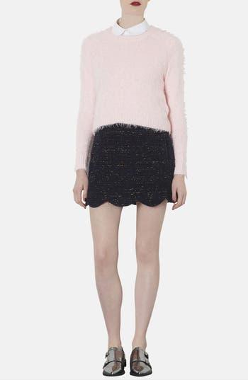 Alternate Image 4  - Topshop Ribbed Knit Crop Sweater