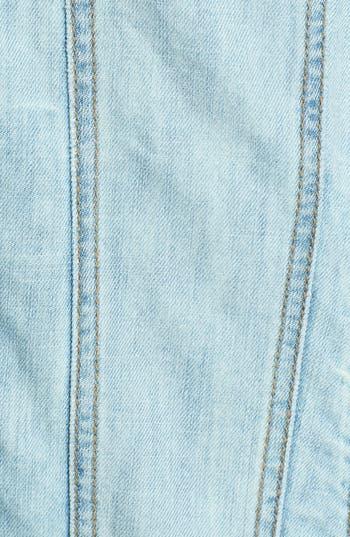 Alternate Image 3  - BP. Oversized Denim Jacket (Juniors)