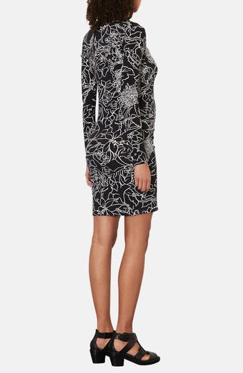 Alternate Image 2  - Topshop 'Pen Garden' Body-Con Maternity Dress