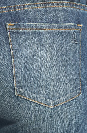 Alternate Image 3  - Articles of Society 'Cindy - Girlfriend' Relaxed Crop Jeans (Medium Wash) (Juniors)