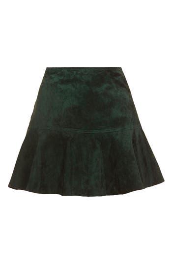Alternate Image 3  - Topshop Unique Flippy Suede Skirt