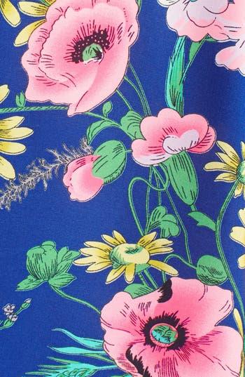 Alternate Image 3  - Flying Tomato Floral Print Kimono Jacket (Juniors)