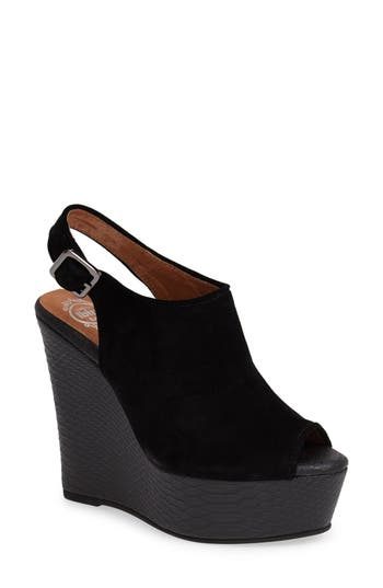 Jeffrey Campbell 'Dexter' Wedge Sandal (Women)