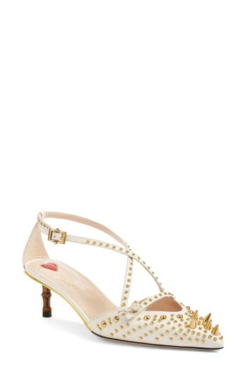 Gucci Unia Studded Pump (Women)