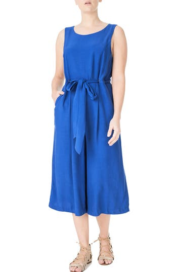 ELVI Culotte Jumpsuit (Plus Size)