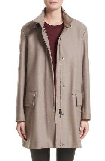 Belstaff Moryah Wool Blend Coat