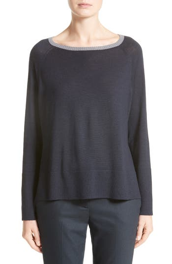 Fabiana Filippi Side Zip Wool Pullover