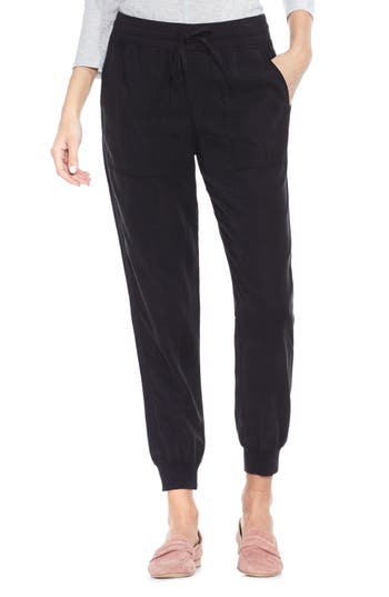 Vince Camuto Twill Jogger Pants