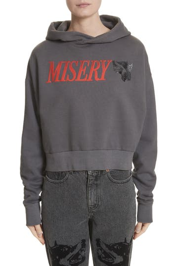 Ashley Williams Misery Graphic Pullover Hoodie