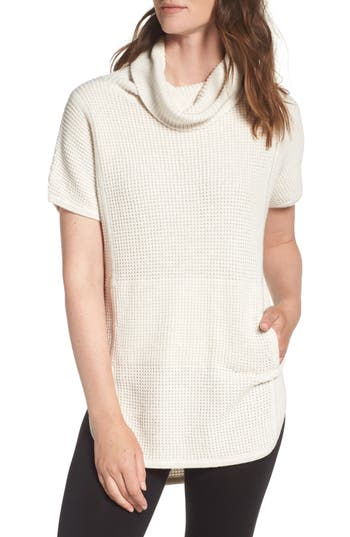UGG® 'Selby' Turtleneck Cotton Knit Pullover