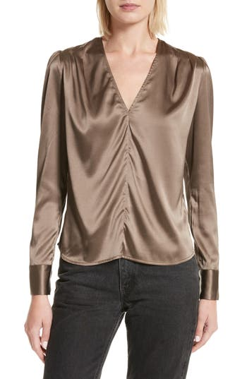 Rachel Comey Shield Silk Blouse