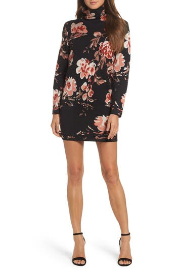 Ali & Jay Feeling Myself Mock Neck Sheath Dress