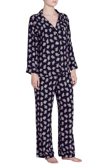 Eberjey x Rebecca Taylor Lou Silk Pajamas