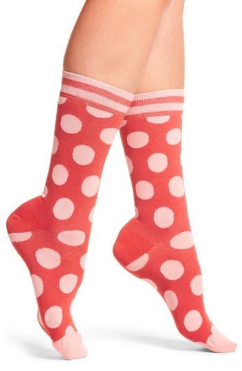 Happy Socks Big Dot Crew Socks (3 for $24)