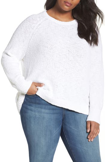 Caslon® Relaxed Crewneck Sweater