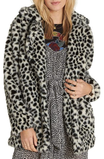 Billabong Wild One Faux Fur Co..